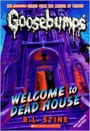 Goosebumps book cover