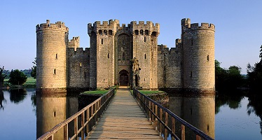 Bodiam Castle, East Sussex, UK