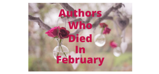 Feature Image - Authors who died in February