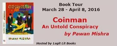 Coinman tour poster