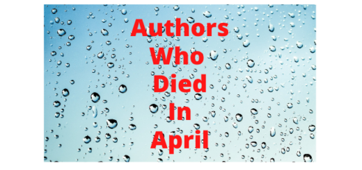Feature Image - Authors who died in April - 1