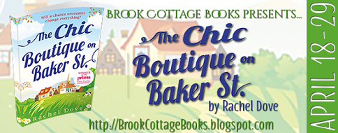 The Chic Boutique on Bakers Street by Rachel Dove poster