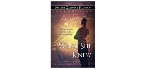 feature Image - What She knew by Nadine Feldman