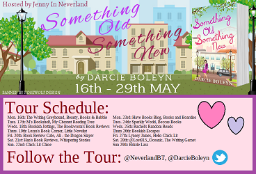 Something Old Something New blog tour poster