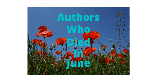 Feature Image - Authors Who Died in June