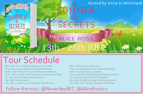 Summer of secrets schedule
