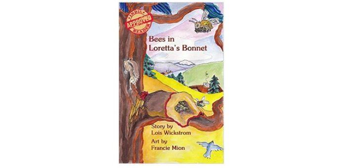 Feature Image - Bees in Lorettas bonnet by Lois Wickstrom