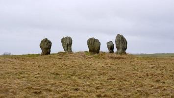 Duddo stone circle.