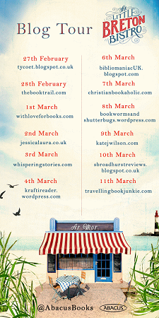 Little Breton Bistro by Nina George Blog Tour Poster