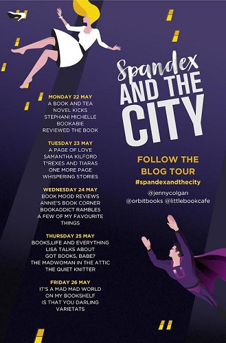 Spandex and the City Tour Poster