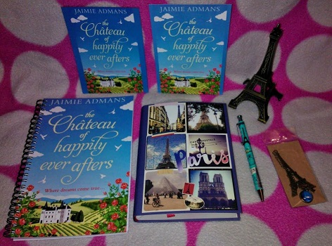 The Chateau of happily ever afters by jaimie admans gievaway picture