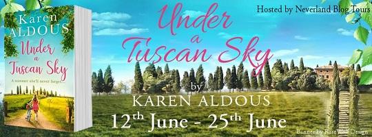 Under a Tuscan Sky by Karen Aldous poster