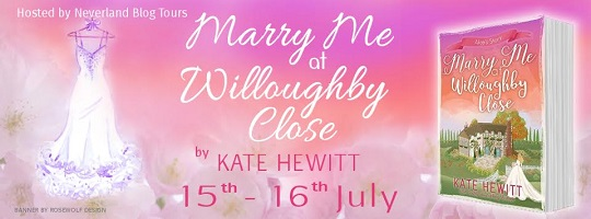 Marry Me at Willoughby Close by Kate Hewitt tour poster