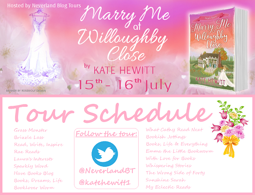 Marry Me at Willoughby Close by Kate Hewitt tour schedule