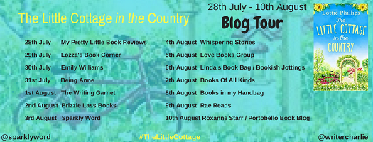The Little Cottage in the Country by Lottie phillips tour poster