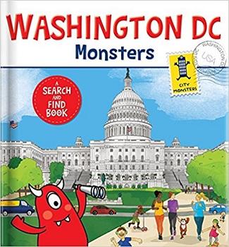 Washington DC Monsters by Rebecca K Moeller