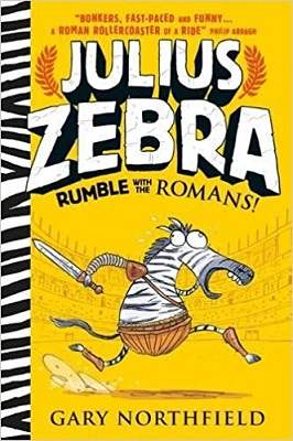 Julius Zebra Rumble with the romans by Gary Northfield