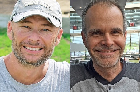 Shane Trusz and Darryl Frayne