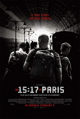15 17 to paris poster