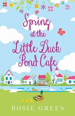Spring little duck pond
