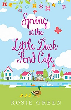 Spring at the little duck pond cafe by rosie green