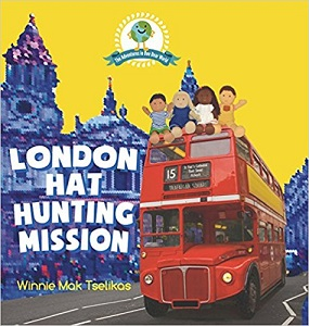 London Hat Hunting Mission by Winnie Mak Tselikas