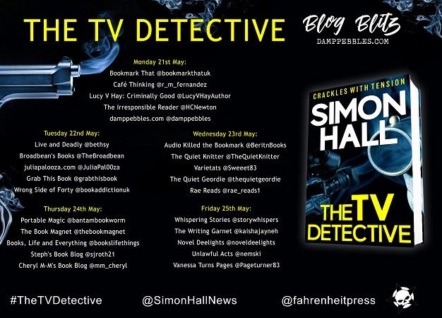 TV Detective tour poster