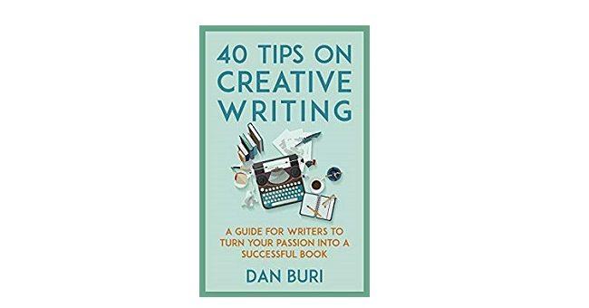 Feature Image - 40 tips on creative writing by dan buri