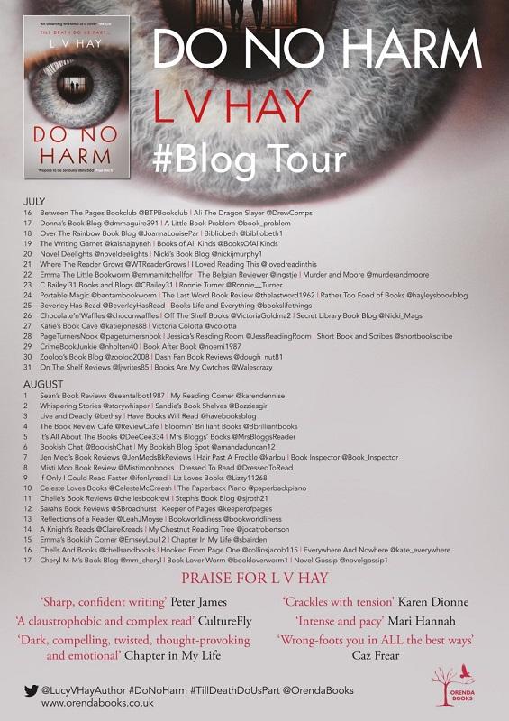 FINAL DO NO HARM BLOG TOUR POSTER