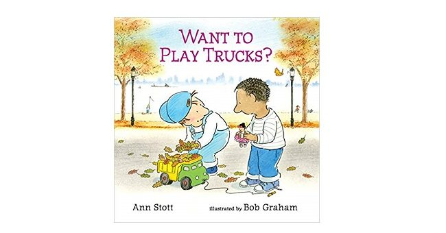 Feature Image - Want to play trucks by ann Stott