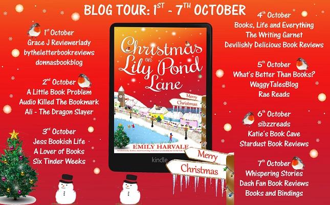Christmas on Lily Pond Lane Full Tour Banner