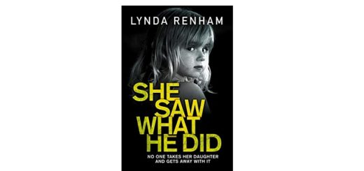 Feature Image - She Saw What He Did by Lynda Renham