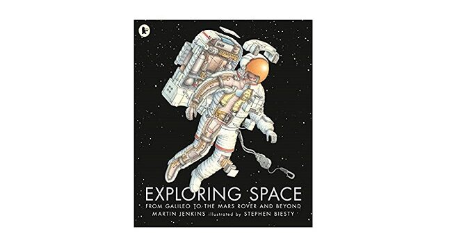 Feature Image - Exploring Space by martin Jenkins