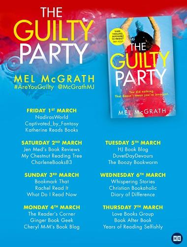Guilty Party Blog Tour