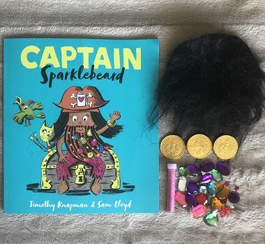 giveaway captain sparklebeard