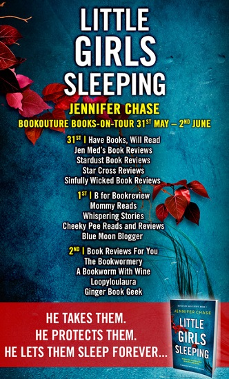 Little Girls Sleeping Blog Tour Poster