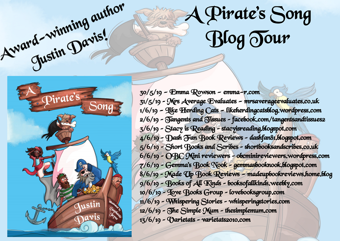 A Pirates Song tour poster
