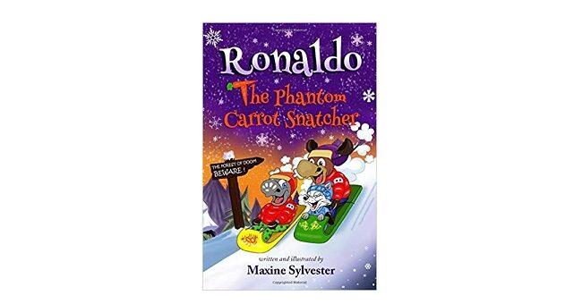 Feature Image - Ronaldo The Phantom Carrot Snatcher by Maxine Sylvester