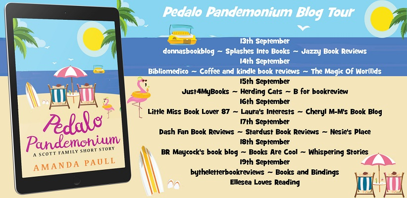 Pedalo Pandemonium The Scott Family banner