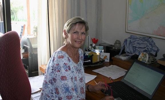 Where Shirley Goodrum writes