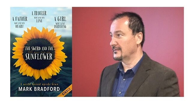 Feature Image - The Sword and the Sunflower by Mark Bradford