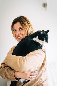 Nicola May cat