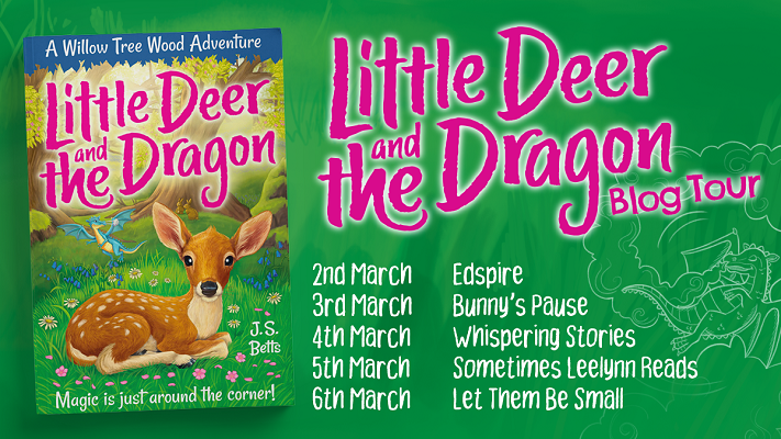 Little Deer and the Dragon blog tour images