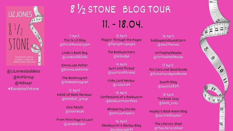 8 ½ Stone Blog Tour poster