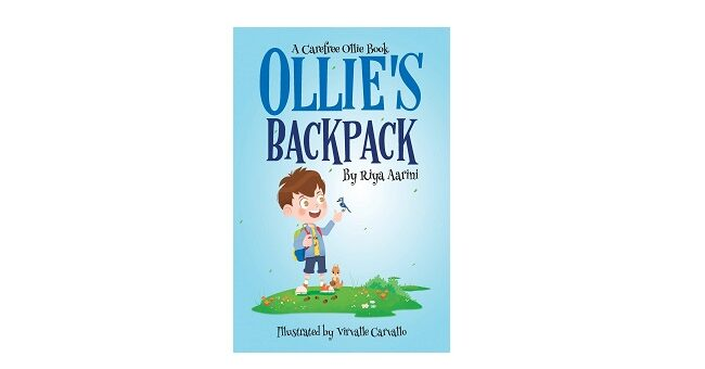 Feature Image - Ollies Backpack by Riya Aarini