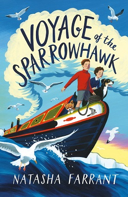Voyage of the sparrowhawk by Natasha Farrant