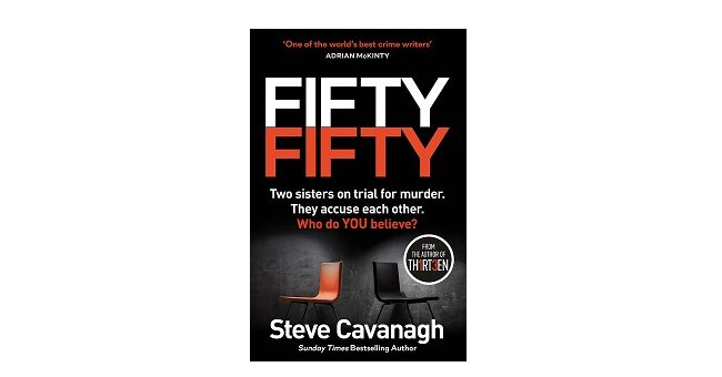 Feature Image - Fifty Fifty Steve Cavanagh
