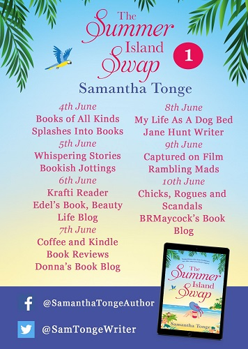 The Summer Island Swap Tour Poster