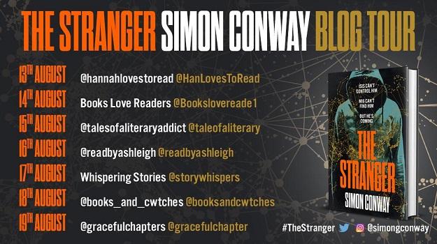 The Stranger Blog Tour Poster