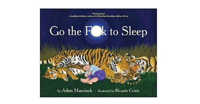 Feature Image - go the f to sleep by adam mansbach